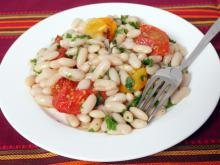 Winter Bean Salad
