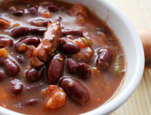 Bean Stew with Bacon