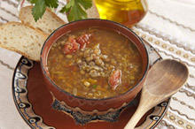 Lentils with Smoked Ribs