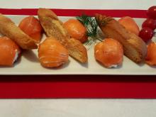 Bonbons with Smoked Salmon