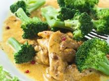Curry with Broccoli and Chicken