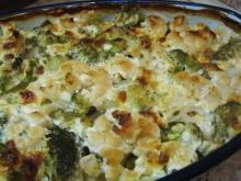 Roasted Broccoli and Cauliflower with Cream