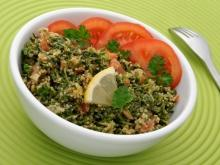 Bulgur with Leeks