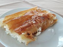 Phyllo Pastry Burek with Feta Cheese