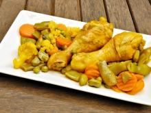 Aromatic Chicken with Vegetables