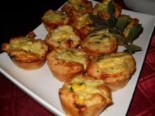 Puff Pastry Muffins with Spinach