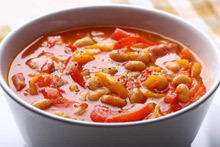 Bean Soup with Chicken