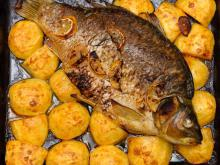 St Nicholas' Day Carp with Potatoes
