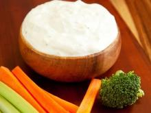 Tzatziki with Carrots