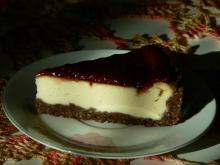 Baked Cheesecake with Jam