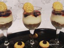 Economical Cheesecake in Glasses