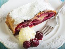 Summer Strudel with Cherries