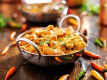Chicken Balti with Spices