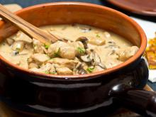 Turkey Meat with Mushrooms