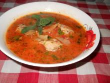 Chicken Stew with Spearmint
