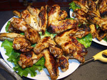 Chicken Wings with Mayonnaise