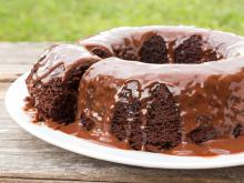 Syruped Chocolate Cake