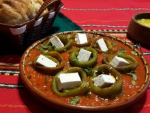 Fantastic Peppers with Fried Tomatoes