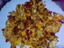 Tasty Peppers with Eggs