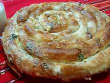 Pulled Phyllo Pastry with Spinach