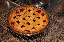 Morello Sour Cherry Pie