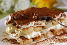 Ice Cream Tiramisu with Biscotti