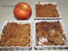 Diet Apple Crumble