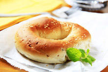 Bagels with Sesame