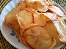 Homemade Chips from Fresh Potatoes