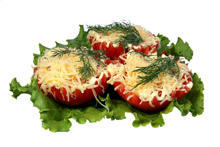 Tomatoes Stuffed with Eggs
