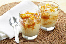 Summer Cream with Lemon and Cottage Cheese