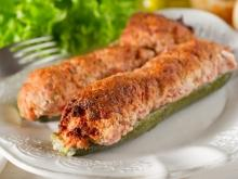 Zucchini with Cottage Cheese in the Oven