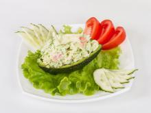 Egg Salad with Avocado