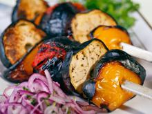 Fragrant Eggplant Skewers
