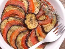 Roasted Caprese Salad with Eggplant