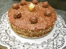 Exquisite Ferrero Rocher Cake
