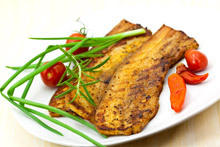 Marinated Grilled Hake