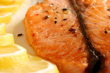 Salmon with Lemon and Ginger