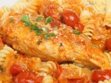 Oven-Baked Fusilli with Chicken