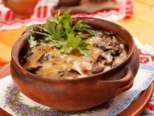 Julienne with Wild Mushrooms