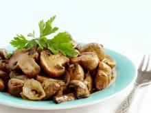 Appetizer with Mushrooms and Eggs