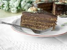 Chocolate Garash Cake