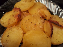 Potatoes Baked with Mustard