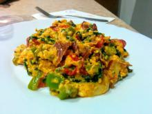 Tasty Spring Dish with Eggs