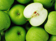 The apple - a weapon against cellulite and stress