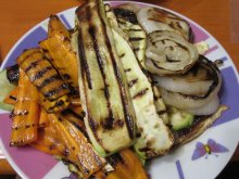 Veggies in a Grill Pan