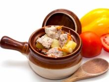 Clay Pot Stew with Pork and Sausage