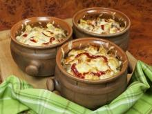 Spicy Chicken Fillets in Clay Pots