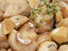 Greek Recipe for Mushrooms