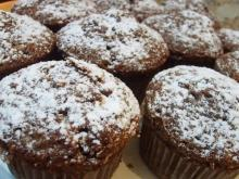 Cocoa Muffins with Raisins
